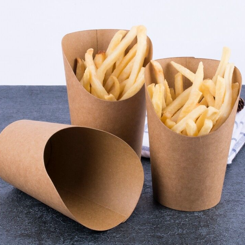 Kraft French Fries Container